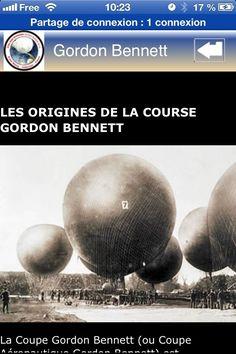 Les premières images de l'application mobile pour Androïd de la Gordon Bennett 2013 sont disponibles sur Google Play