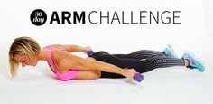 Get ready to show off your guns after you complete our 30 day arm challenge. Each week we will challenge you to use heavier weights or push out one more rep of a body weight exercise to really sculpt and tone your shoulders, biceps and triceps. This 4 week challenge will work your upper body with a workout schedule designed by the creator of The Stoked Method.