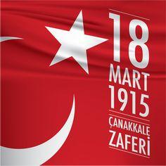 Vektörel Çizim | 18 Mart 1915 Çanakkale Zaferi