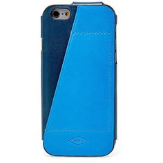 Fossil Blue Iphone 6 Case Mlg0343470 ($40) ❤ liked on Polyvore featuring men's fashion, men's accessories and men's tech accessories