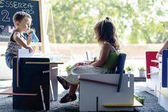 Silla-pupitre Essenza Kids para niños