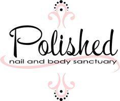 classic feminine logo design for polished nail and body sanctuary - Nail Salon Logo Design Ideas