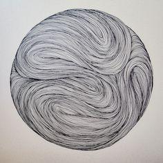 by Isaque Pepe Abstract Line Art, Zen Art, Zentangle Patterns, Line Drawing, Traditional Art, Doodle Art, Collage Art, Creative Art, Art Inspo