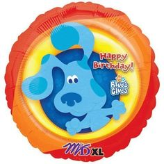 18 inch mylar birthday party Blues clues balloon * Click on the image for additional details.