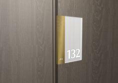 Our 3D room sign for Viceroy Hotel. #ViceroyHotel #signage #design #wayfinding #dezigntechnic #DubaiUAE #creativity www.dezigntechnic.com
