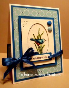 CC428 - SMASHING COLOR COMBO... by Karen B Barber - Cards and Paper Crafts at Splitcoaststampers