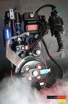 Image of Ghostbusters 1 & 2 style proton pack Ghostbusters Proton Pack, The Real Ghostbusters, Ghostbusters Pictures, Ghost Busters, Movie Props, Movie Theater, Custom Design, Movies, Skottie Young