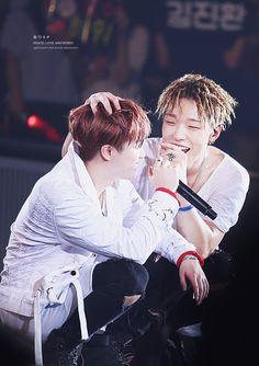 Jinhwan and bobby