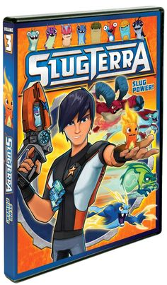 Slugterra: Slug Power DVD Review