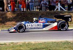 Stefan Johansson, Systime Tyrrell-Ford 012, 1984 British Grand Prix, Brands Hatch