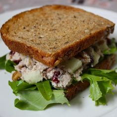 Healthy Harvest Tuna Salad - Get Off Your Tush and Cook!
