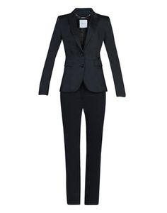 Interview suits for women should be solid in color and can be found in pants or skirts versions. Here is a great example.