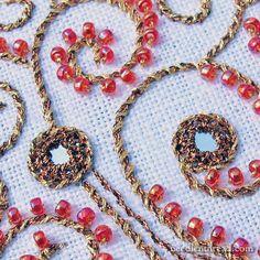 Shisha, Metallics, and Beads: You Won't Know it's a Tree – NeedlenThread.com