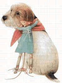 Vera de Muis: Popje en hond