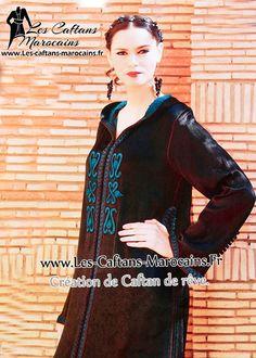 Djellaba-2015-marocaine-marron-et-trquoise avec broderies jilbab ! http://www.les-caftans-marocains.fr/djellabas-tendance/djellaba-chic-pour-recevoir-ses-amis-et-proches-nauveaute-2015,a5966146.html