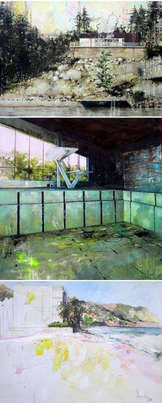carola schapals - large scale paintings