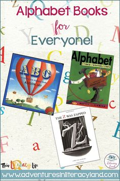 Alphabet books aren't just for the youngest readers. With so many choices, everyone can find one (or more) to enjoy! Different Alphabets, Alphabet Books, Letter Identification, Story Elements, Simple Pictures, Mentor Texts, Learning Letters, Letter Recognition, Teaching Strategies