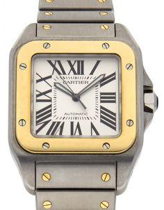 Watchmaster.com - Cartier Santos 100 W200728G
