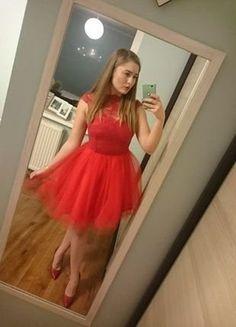 Kup mój przedmiot na #vintedpl http://www.vinted.pl/damska-odziez/sukienki-wieczorowe/17215927-czerwona-sukienka-virginia-sugarfree