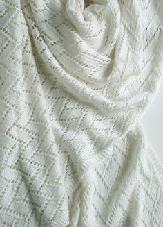 Bamboo Wedding Shawl - the purl bee