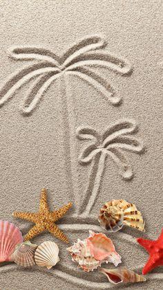texture, seashells, sand, figure, starfish, drawing, shell, sand photo