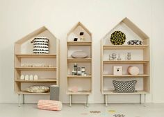 Ferm-Living-Spring-Summer-2013-8. Would love to make something like this for the kiddo rooms