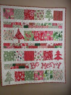 This would be an easy Christmas sewing project s2sewingsisters