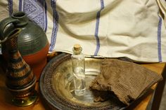 Medieval Hygiene and Staying Clean Authentically at Events | Eulalia Hath A Blogge
