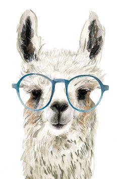 Hip Llama II Canvas Print by Victoria Borges Alpacas, Canvas Art, Canvas Prints, Art Prints, Llamas Animal, Llama Drawing, Llama Pictures, Llama Images, Llama Arts
