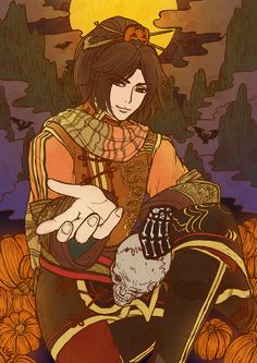 Happy Halloweenだっての! [2], shin sangoku musou, dynasty warriors, pixiv, ling tong
