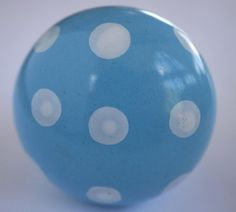 CK281 Harbour Blue Polka Dot