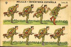 Recortable de soldados: Melilla, infanteria española (Ed.DV Letra A) (ver foto adicional) - Foto 1