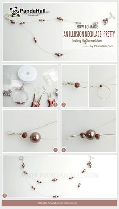 This tutorial will teach you a simple way about how to make an illusion necklace; after this illusion necklace instructions you will also master the right skill of backing-through, wrapping and securing beads without knotting and crimping.