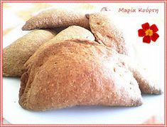 Συνταγές για διαβητικούς και δίαιτα: ΤΥΡΟΠΙΤΑΚΙΑ ΟΛΙΚΗΣ ΜΕ cottage & ΔΥΟΣΜΟ Bread, Food Ideas, Brot, Baking, Breads, Buns