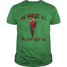 PARROT TALKING SMACK T-SHIRTS, HOODIES, SWEATSHIRT (19$ ==► Shopping Now)