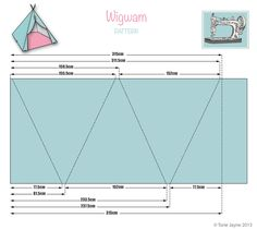 Wigwam pattern | Blogged at Torie Jayne.com Blog|Facebook|Tw… | toriejayne | Flickr