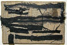 Horizon (2011) Fiber: stitched cloth remains onto hemp Carol Lee Shanks