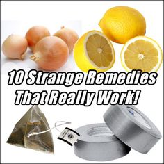 Share This Page: Enjoy this awesome collection of weird and wonderful natural remedies. Some of them are pretty random and will make you laugh – especially when you start to question who discovered this for the first time and what on earth they were up to at the time! However there are some solid reasons …