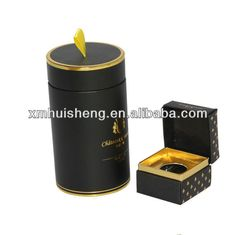 Pretty glossy printed cylinder paper gift box for tea packaging with logo and satin ribbon, View cylinder paper gift box, Fullsun Product Details from Xiamen Fullsun Package Technology Co., Ltd. on Alibaba.com