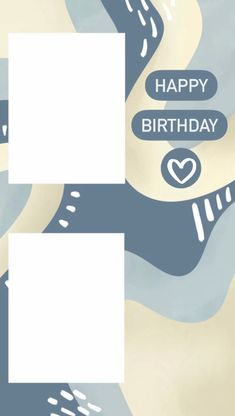 Birthday Quotes Bff, Happy Birthday Posters, Happy Birthday Wallpaper, Happy Birthday Wishes Quotes, Birthday Posts, Birthday Captions Instagram, Birthday Post Instagram, Happy Birthday Template, Instagram Frame Template