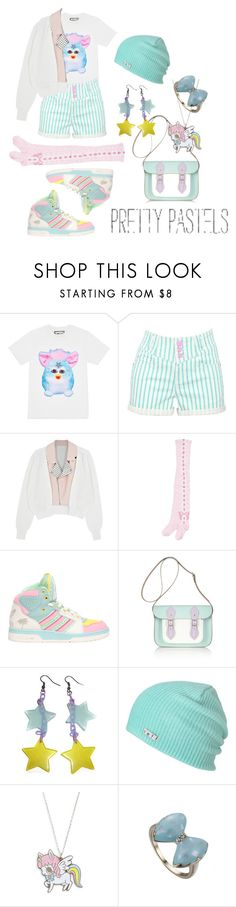 """Untitled #508"" by psychoyouth ❤ liked on Polyvore featuring Toga, adidas, The Cambridge Satchel Company and Neff"