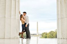 Engagement photo in Washington, DC by Sanderson Images See more:  www.sandersonimages.com/blog