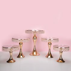 Quality New arrive Gold Crystal cake stand set Electroplating gold mirror face fondant cupcake sweet table candy bar table decorating with free worldwide shipping on AliExpress Mobile Cupcake Stand Wedding, Wedding Cake Stands, Wedding Cupcakes, Cupcake Stands, Table Wedding, Wedding Decor, Silver Cake Stand, Crystal Cake Stand, Cupcake Table