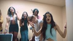 The Vamps With Fifth Harmony In The Shower #IceBucketChallenge #ALSIceBu.....THEY ARE SO LUCKY