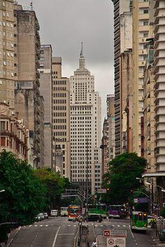 Local: Edifício do Banespa ou Banespão (edifício Altino Arantes), vista da Avenida São João, Centro oohyouprettythings:  (by Claudio Margini Jr.)