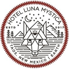 Hotel Luna Mystica is a Vintage Trailer Hotel and Campground in Taos, NM. We offer Airstream hotel accommodation and camping in Taos, also on Airbnb.