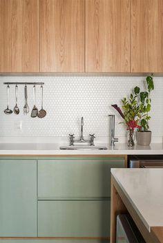 10-cozinha-americana-colorida #kitcheninteriordesignapartment