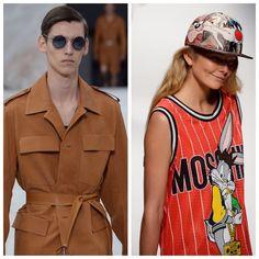 Androginia no visual das roupas e dos modelos marcou o desfile do diretor criativo Nicolas Ghesquière para Louis Vuitton no Paris Fashion Week 2015. Já a  Moschino usou em suas modelos itens explorados exaustivamente por homens como as regatas esportistas e o boné, no Milão Fashion Week 2015.