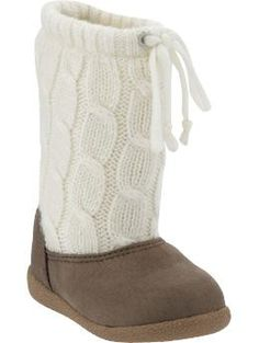These are adorable! I love boots on my baby girl!