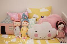 dolls/pillows - lucky boy sunday, sirlig, kokokoshop, piggyhatespanda, Farg och form, blafre design, ferm living /elinochalva.blogg.se
